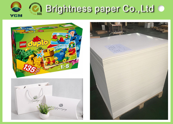 High End Printing / Pacaking Ivory Board Paper 190gsm ~ 400gsm Antistatic